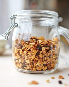 Granola base - start with this recipe and add favorites to create your own granola.