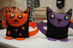 Halloween katten