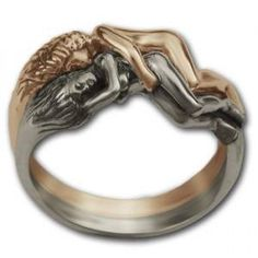 Twin souls ring! We need to get one of these my Lion :)