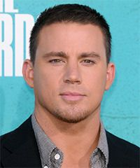 Channing Tatum  has the perfect men's  Hairstyle