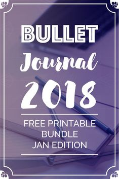 Merry Christmas my friend! In this blog post I share four #FreePrintables for January 2018 to turn your #BulletJournal into a productivity creator for you in the New Year. Enjoy!