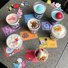 Yo quiero uno TT-TT Porque no vivo en Corea 😭😢 Aesthetic Food, Kpop Aesthetic, Bt 21, Eat This, Kpop Merch, Line Friends, About Bts, I Love Bts, Cute Food