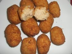 Croquetas de atún Thermomix Food Humor, Everyday Food, Sin Gluten, Kitchen Recipes, Food To Make, Food And Drink, Appetizers, Favorite Recipes, Healthy Recipes