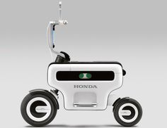 concept only -NO PRICE TAG. honda motor compo foldable electric scooter. no data
