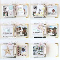 I really ♡ mini album!!! ;) #minialbum #wearememorykeepers #americancrafts…