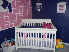 40 Best Pink Navy Nursery Images Navy Nursery Nursery