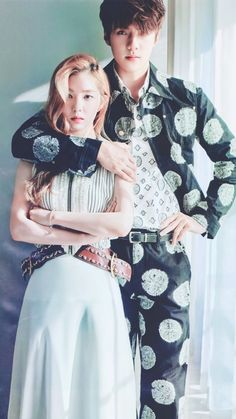 We thought nothing could top EXO Sehun and Red Velvet Irene& & cover, but we think the rest of their couple photos are Hot dang. We thought nothing could top EXO Sehun and Red Velvet Irene& & cover, but we think the rest of their couple photos. Exo Red Velvet, Red Velvet Irene, Kpop Couples, Cute Couples, Sehun Irene, Foto Sehun, We Got Married Couples, Kpop Entertainment, Korean Couple Photoshoot