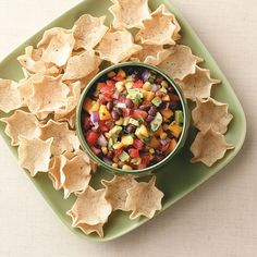 Fresh Summer Salsa Recipe -This fresh-tasting combination is great with chips or grilled salmon, chicken or pork chops. But it's so good, sometimes I just eat it with a spoon! —Lindsay Anderson, Inman, Kansas