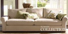Living Room Sofas, Low Back Sofas & Rowan   Pottery Barn