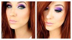 New Jaclyn Hill Morphe Palette - Tutorial & My Opinion Urban Decay Electric Palette, Electric Palette Looks, Love Makeup, Makeup Inspo, Beauty Makeup, Makeup Looks, Beauty Tips, Amazing Makeup, Crazy Makeup