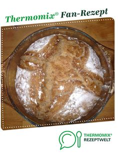 Recipe Dinkel-Roggen Brot by PuggleTyson, learn to make this recipe easily in your kitchen machine and discover other Thermomix recipes in Brot & Brötchen. Basic Italian Bread Recipe, Italian Bread Recipes, Vegan Recipes, Irish Bread, Thermomix Bread, Vegetarian Cake, No Knead Bread, Yummy Food, Tasty