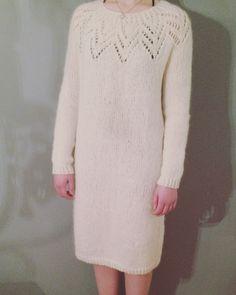 Knittet Tiril Eckhoff dress Strikket Tiril kjole