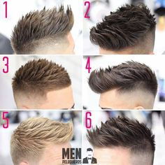 "11.1k Likes, 261 Comments - Best Men's Hairstyles and Cuts (@menshairs) on Instagram: ""@menpeluqueros - TEXTURE💈 What's your favourite?"""