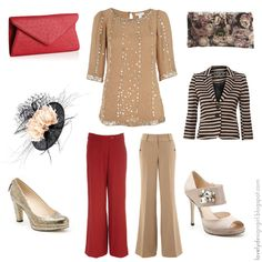 Outfit ideas for Mother of the Bride or Groom.  http://lovelydesigngirl.blogspot.com