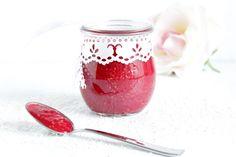 Rezepte mit Herz: Himbeer - Kokos - Marmelade ♡