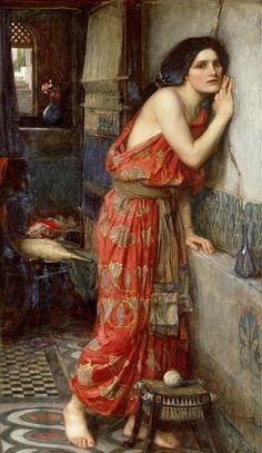 Фисба. Частная коллекция 1909. 97x59