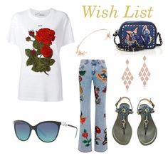 """""""Wish list"""" by shaunna-cross on Polyvore featuring Valentino, Gucci, Off-White, Tiffany & Co., Anne Sisteron and Anabela Chan"""