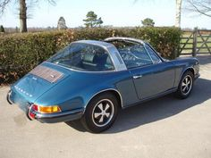 Classic Chrome   Porsche 911 2.4T Targa 1973 N/A Azure Blue