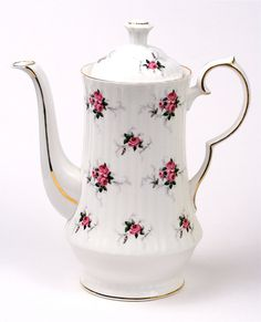 Spode Bone China Teapot Made In England 80' by BornToBeWildStudios, $27.99