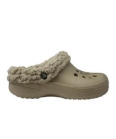 Take a look at this Tan Fleece Clog by DAWGS on #zulily today!