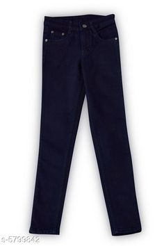 Jeans Elegant Denim Boy's Jean Fabric: Denim Pattern: Solid Multipack: Single Sizes:  Age Group (1 - 2 Years) - 18 in Age Group (2 - 3 Years) - 20 in Age Group (3 - 4 Years) - 22 in Age Group (4 - 5 Years) - 24 in Age Group (5 - 6 Years) - 26 in Age Group (6 - 7 Years) - 28 in Age Group (7 - 8 Years) - 30 in Age Group (8 - 9 Years) - 30 in Age Group (9 - 10 Years) - 32 in Age Group (10 - 11 Years) - 32 in Age Group (11 - 12 Years) - 34 in Country of Origin: India Sizes Available: 2-3 Years, 3-4 Years, 4-5 Years, 5-6 Years, 6-7 Years, 7-8 Years, 8-9 Years, 9-10 Years, 10-11 Years, 11-12 Years, 0-1 Years, 1-2 Years   Catalog Rating: ★4 (868)  Catalog Name: Elegant Denim Boy's Jeans CatalogID_873597 C59-SC1180 Code: 864-5799842-6711