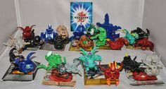 BAKUGAN Battle Brawlers Job Lot of 23 Characters and 10 Cards