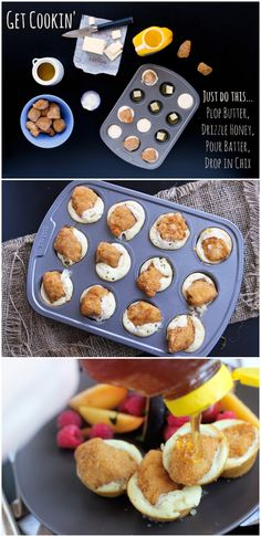 Chicken Nugget 'n Waffle Cupcakes
