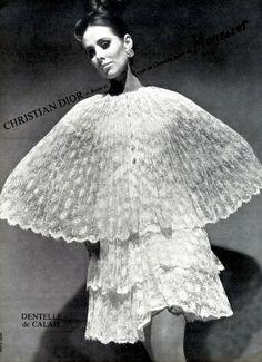 Maggi Eckardt in Christian Dior, photo by Louis Astre, 1966