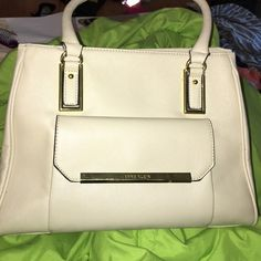 de125c5d86 Nude  beige color Anne Klein purse MAKE OFFER Great condition!! Slight dark  mark