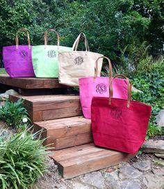 Monogram Jute Bag Sorority Many Colors by IFlewTheNest on Etsy