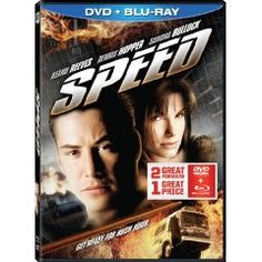 Speed (Two-Disc Blu-ray/DVD Combo) (1994), (keanu reeves, action adventure, 501 must-see movies, action, action movie, adventure, adventure movies, dennis hopper, sandra bullock)