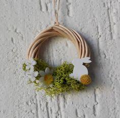 Miniature spring wreath doll house spring wreath by Ghirlandiamo