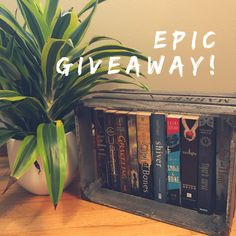 ENTER TO WIN THE HOTTEST YA BOOKS!