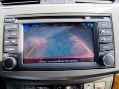 2013 Nissan Sentra rear backup camera