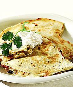 Wolfgang Puck: Cheese Quesadillas with Fresh Guacamole - Healthy Late-Night Snack Recipes from Celebrity Chefs - Shape Magazine - Page 4