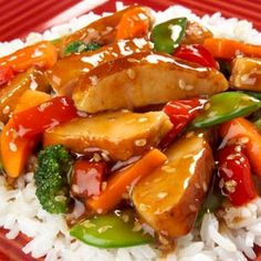 Turkey Stir Fry Tried Teriyaki flavor not that strong. Healthy Recipes, Asian Recipes, Great Recipes, Cooking Recipes, Favorite Recipes, Ethnic Recipes, Molho Teriyaki, Teriyaki Stir Fry, Salsa Teriyaki