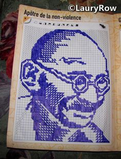 #Gandhi make by mother' ©LauryRow  https://www.facebook.com/merveillesdetentesdelaury
