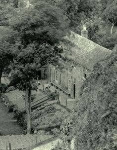 An aerial view of The Green Man. pre WW 2 | St Margaret's History catalogue
