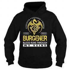 nice BURGENER T-shirt Hoodie - Team BURGENER Lifetime Member