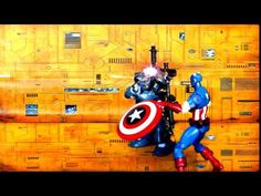 Stop Motion Practice Avengers training footage