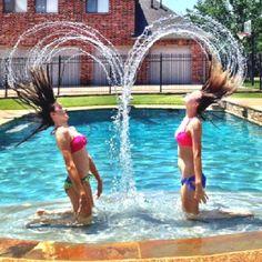 Double hair flip