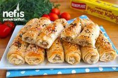 Çok Kabaran Patatesli Börek Puf Puf - Nefis Yemek Tarifleri Cheesecake Brownies, Food And Drink, Meat, Chicken, Breakfast, Ethnic Recipes, Kitchens, Mediterranean Recipes, Food And Drinks