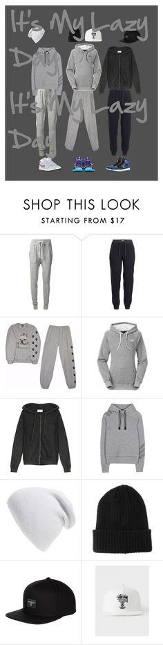 """""""Lazy day outfit"""" by jenabbyreid on Polyvore featuring James Perse, Vince, NIKE, The North Face, American Vintage, Y-3, Phase 3, BOY London and Billabong"""