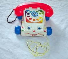Fisher Price Toy Phone by PSVintage2 on Etsy, $9.00