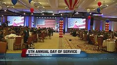 DirecTV employees assemble care packages for military members - www.ktnv.com #DIRECTVGIvesBack #OperationGratitude