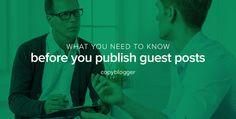 Should You Publish Guest Blog Posts on Your Website? - Copyblogger
