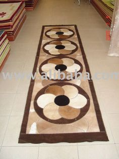 MEW COW SKIN RUG COWHIDE RUG PATCHWORK RUG LEATHER RUGS CARPET COW HAIRON HAIR ON COWHIDE PILLOWS HANDBAG WALLET GOAT SKIN $10~$12 Leather Art, Leather Rugs, Cow Skin Rug, Cowhide Pillows, Patchwork Rugs, Cow Hide Rug, Sewing Projects, Projects To Try, Diy And Crafts