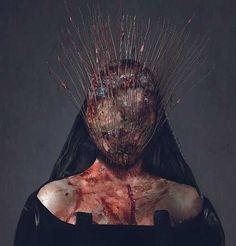 Concept Art and Trailer for an Epic Hellraiser Reboot Pitch Arte Horror, Horror Art, Creepy Art, Scary, Cthulhu, Look Dark, Dark Artwork, Foto Real, Macabre Art