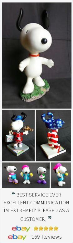 Get your Snoopy figures in my eBay store. Just in time for the Peanuts movie!  :)