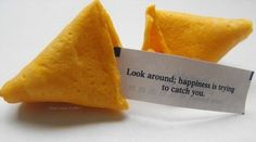 Why Don't I get these kid of messages? (fortune cookie,slip of paper,fortune,quote) Funny Fortune Cookies, Fortune Cookie Messages, Fortune Cookie Quotes, Soundtrack To My Life, Favim, Happy Thoughts, Random Thoughts, Wise Words, Favorite Quotes
